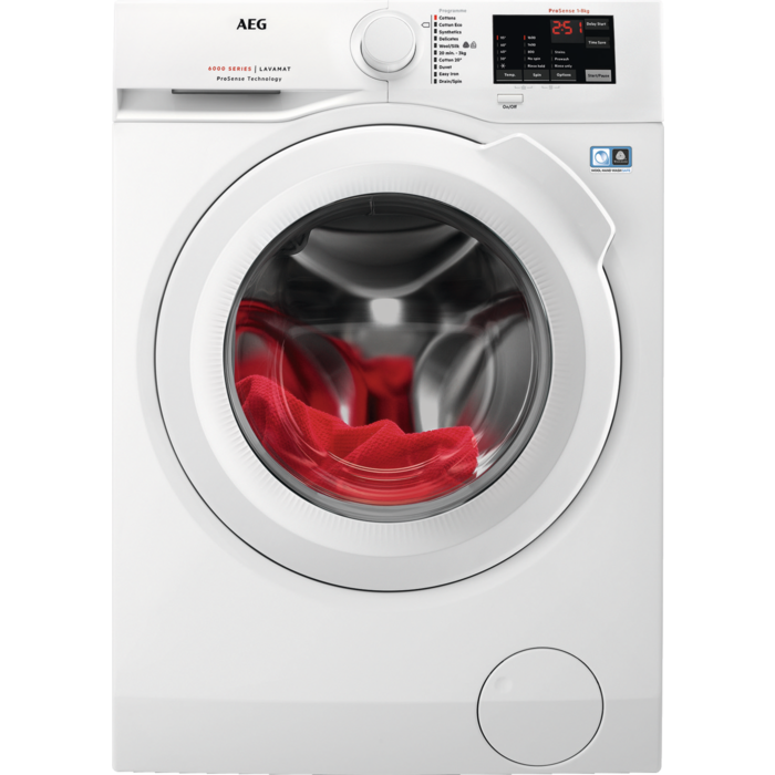 AEG - Front loader washing machine - L6FBI861N