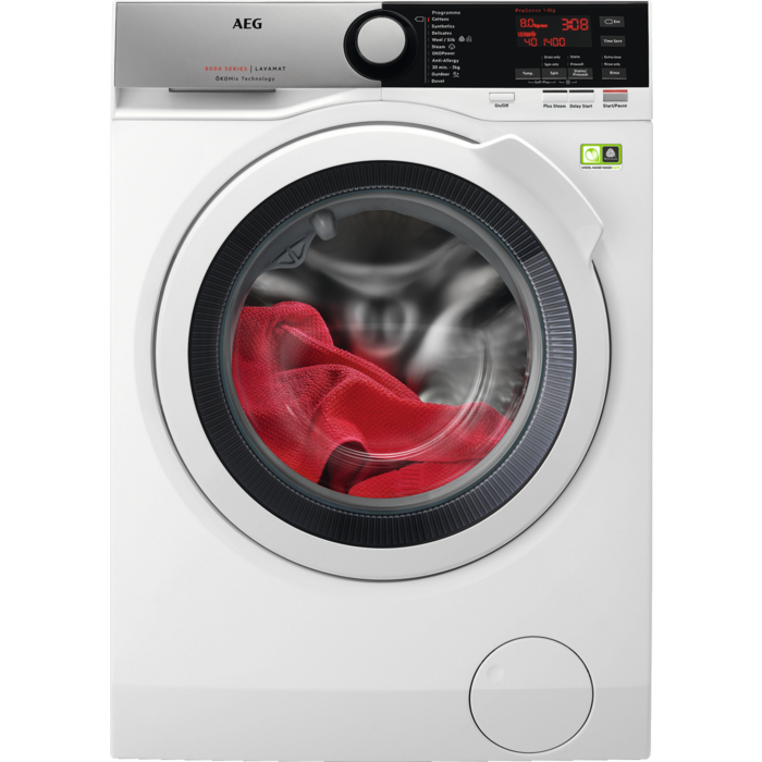 AEG - Front loader washing machine - L8FEE842R