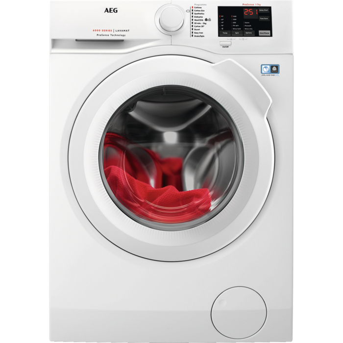 AEG - Front loader washing machine - L6FBI741N
