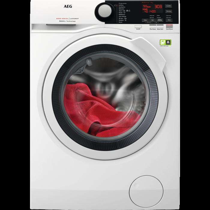 AEG - Front loader washing machine - L8FBE961R