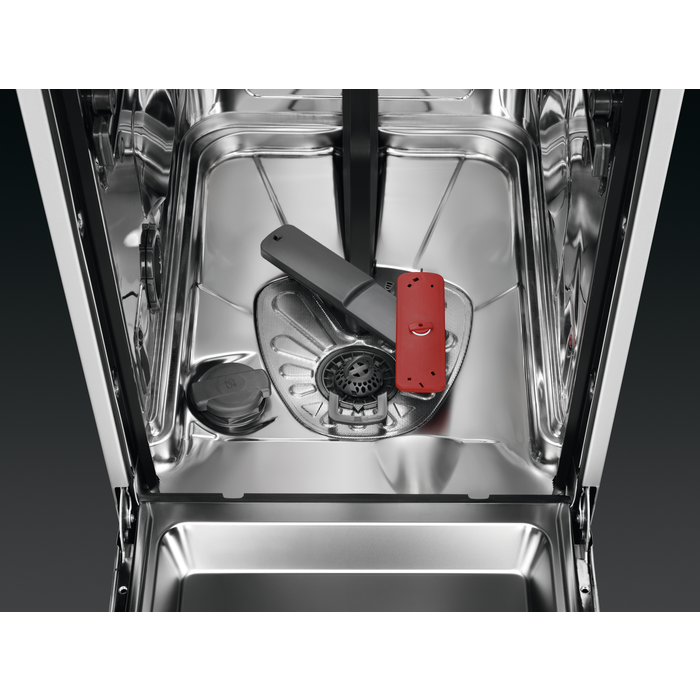 AEG - Freestanding slimline dishwasher - FFB62400PW