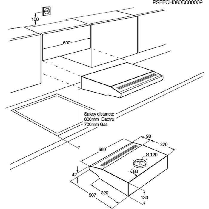 Electrolux - Tradisjonell ventilator - EFT6406/S