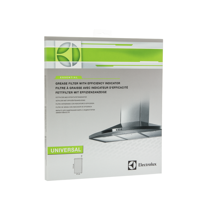 Electrolux - Rasvasuodatin ilmaisimella - E3CGB001