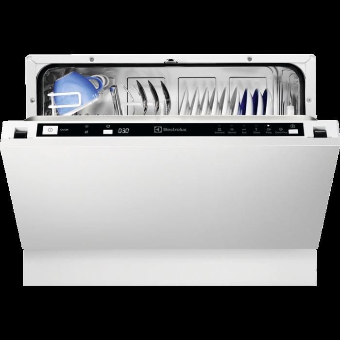 Electrolux - Integrert kompakt oppvaskmaskin - ESL2400RO