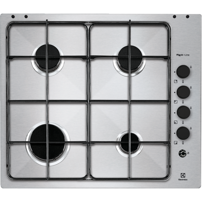 Electrolux - Piano cottura gas - Built-in - RGG6041NOX