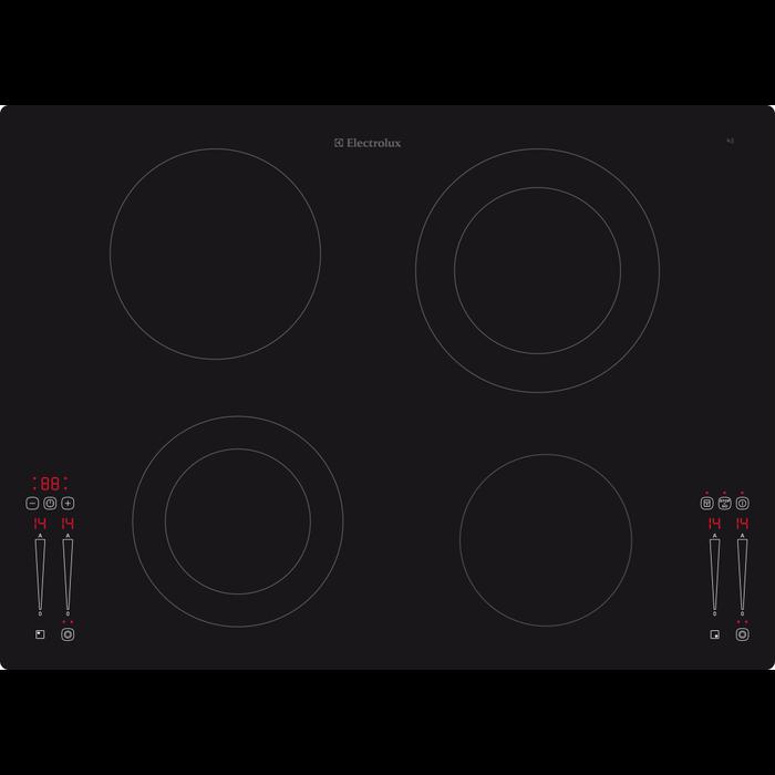 Electrolux - Elektrokochfeld - GK69TSO