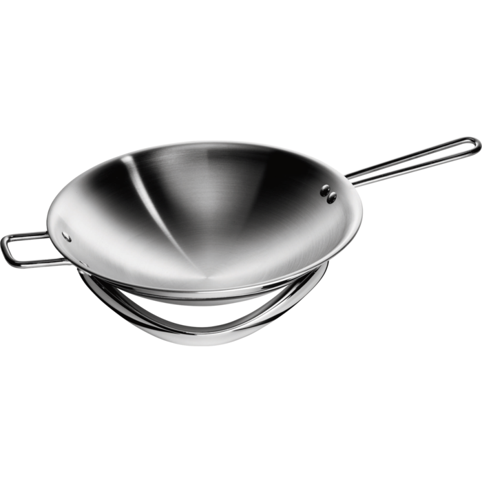 Electrolux - Wok induction bombé avec support - INFI-WOK
