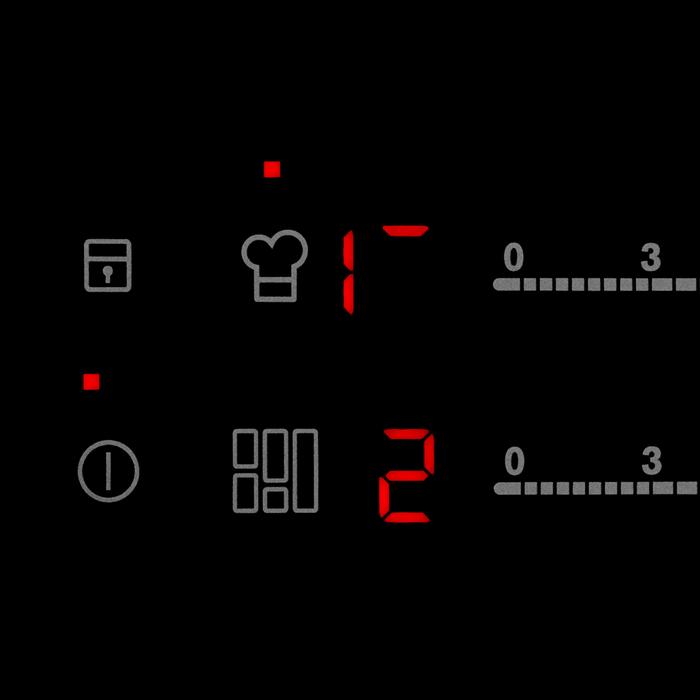 Electrolux - Indukčný varný panel - EHX8H10FBK