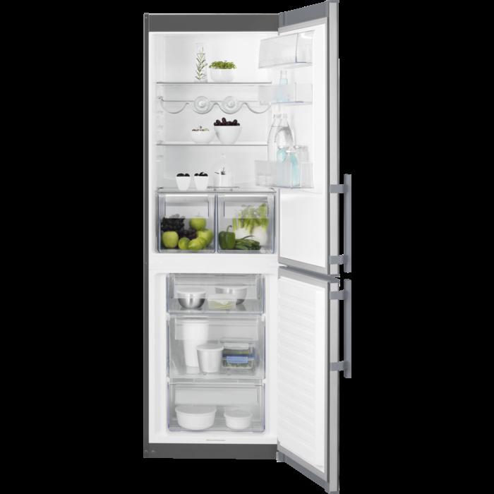 Electrolux - Laisvai pastatomas šaldytuvas su šaldikliu - Laisvai statoma - EN3601MOX
