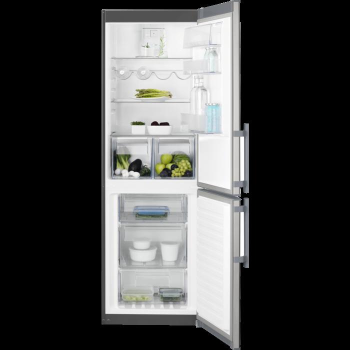 Electrolux - Laisvai pastatomas šaldytuvas su šaldikliu - Laisvai statoma - EN3452JOX