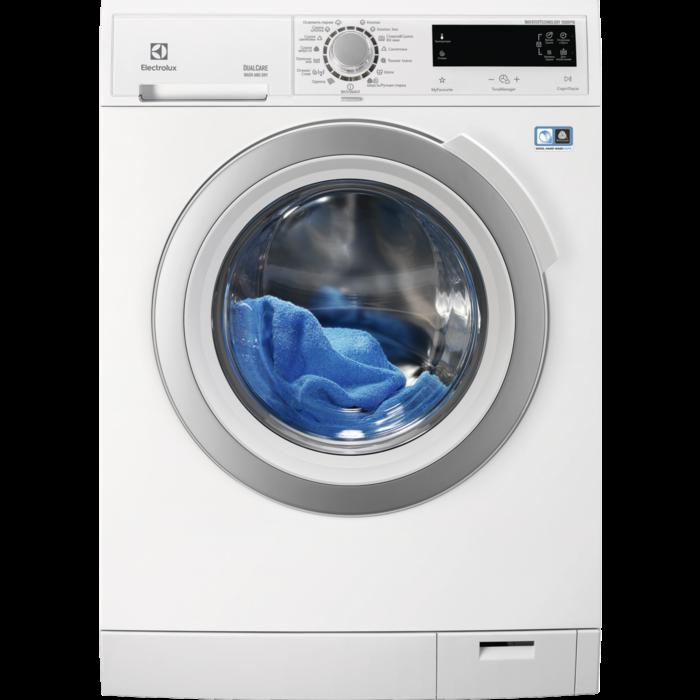Electrolux - Окремо стояча пральна машина з сушкою - EWW51697SWD