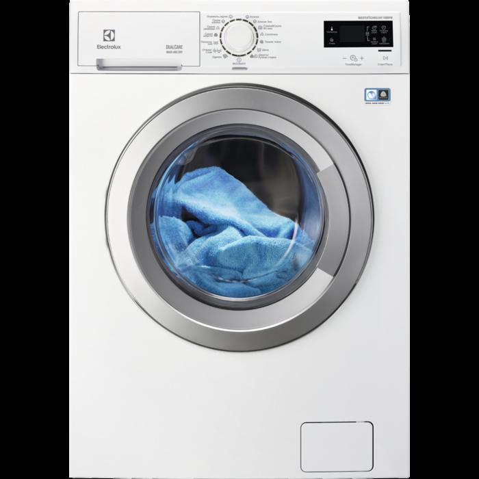 Electrolux - Окремо стояча пральна машина з сушкою - EWW51676SWD