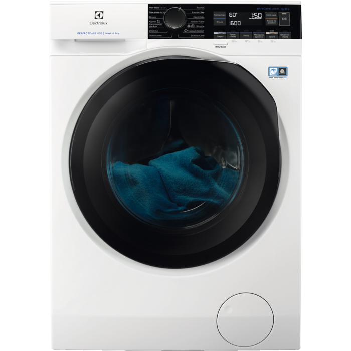 Отдельностоящая стиральная машина с сушкой