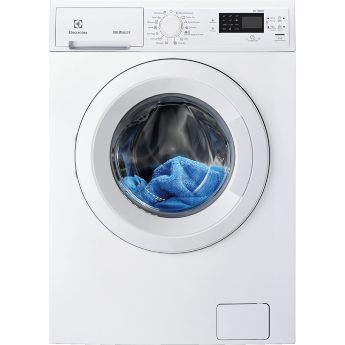 Electrolux - Lave-linge chargement frontal - EWF1284EDW