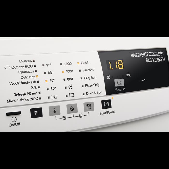Electrolux - Práčka spredným plnením - EWF1274BW