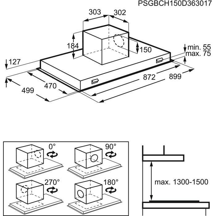 AEG - Deckenlüfter - DCE5980HM