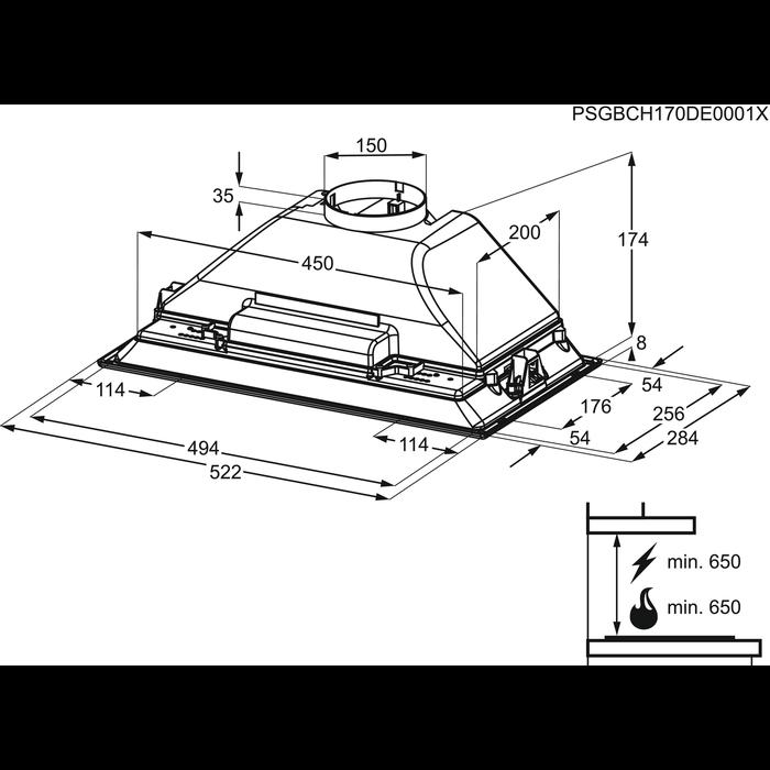 Zanussi - Inbouwgroep - ZHG513G