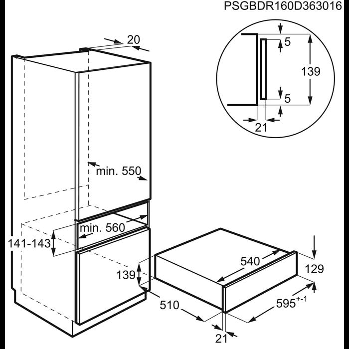 Electrolux - Sous Vide vakuumavimo stalčius - EVD14900OX