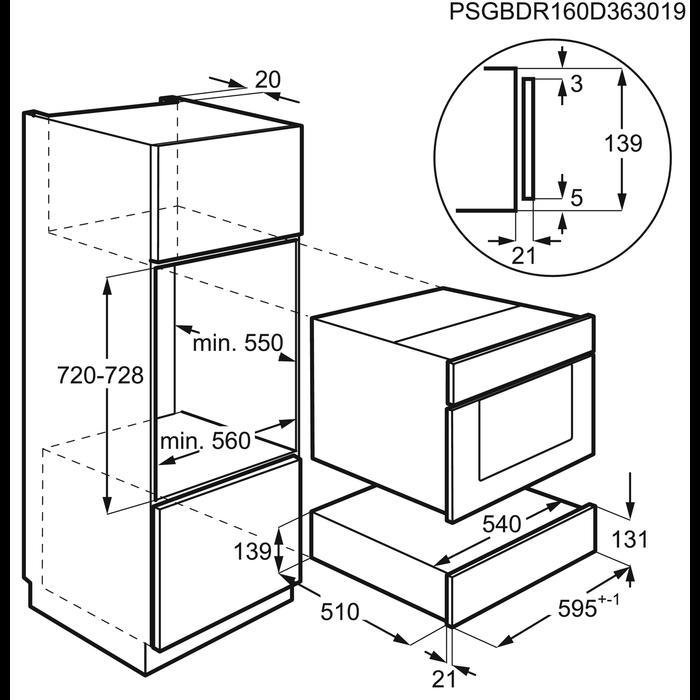 AEG - Sous Vide vacuum sealer - KDK911423M