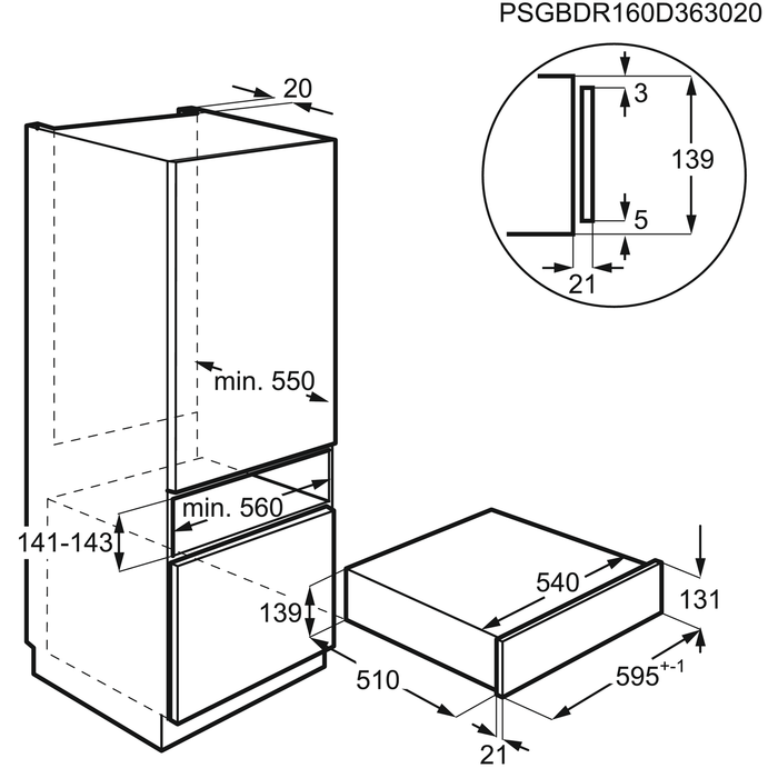 AEG - Sous Vide vacuum sealer - KDE911423M