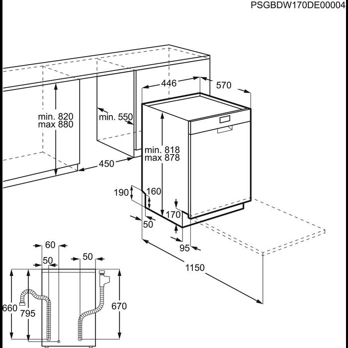 Electrolux - Smal 45 cm - ESF4513LOW