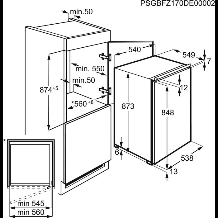 AEG - Einbau Gefrierschränke - ABB68811LS
