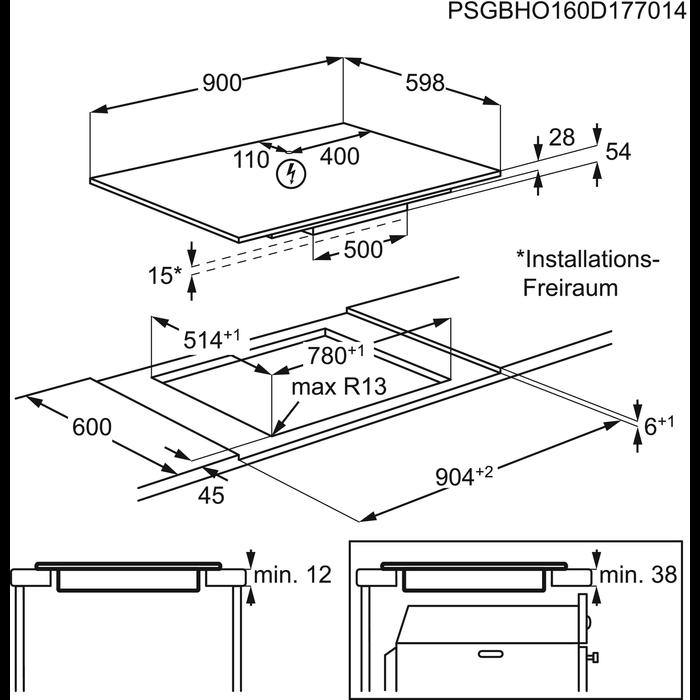 AEG - Induktiotaso - IPK94530LB