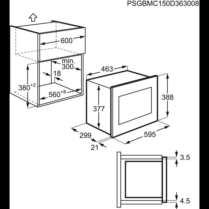 Zanussi - Mikrovlnná trouba - ZSM17100XA