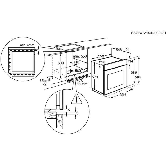 Electrolux - Духовой шкаф - EOG91402AX