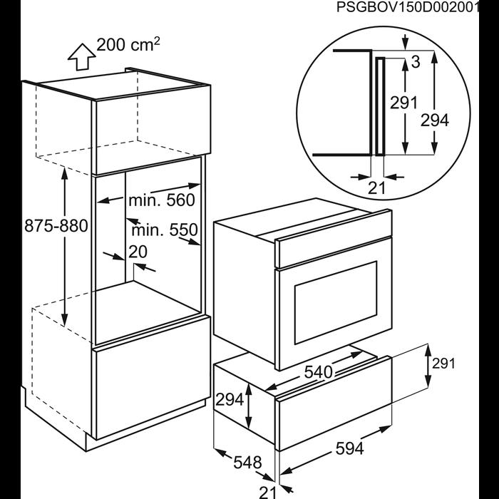 AEG - Wärmeschublade - KD92903E