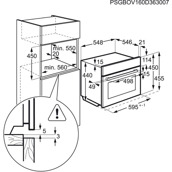 AEG - Einbau-Mikrowellengeräte - KMK761000M