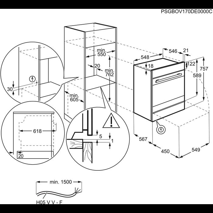Electrolux - Dampfgarer - EBSL70CN
