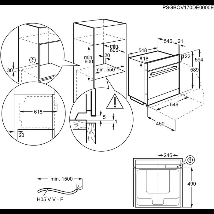 Electrolux - Dampfgarer - EBKSL7CN
