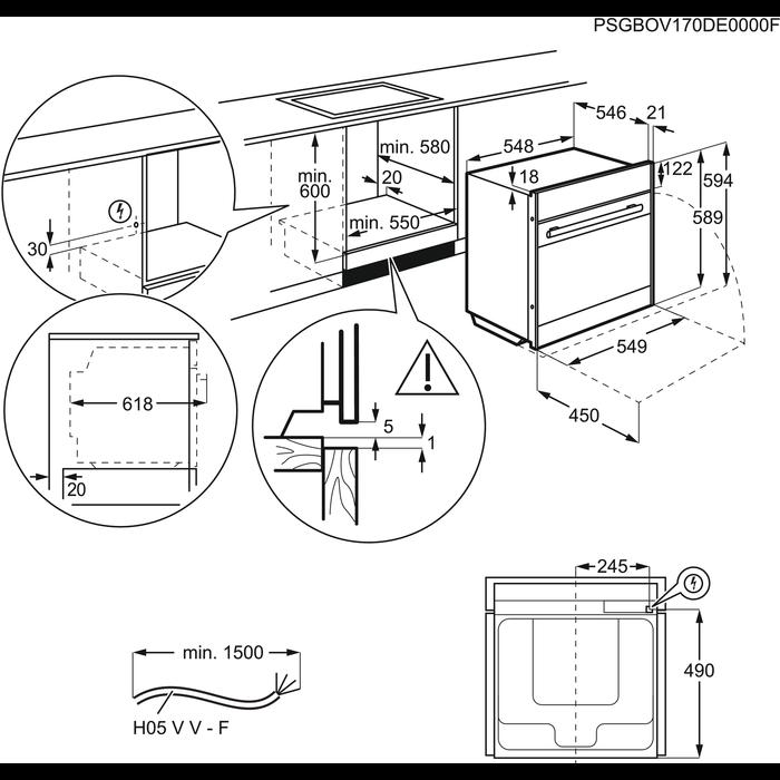 Electrolux - Backofen - EBKSL6SP