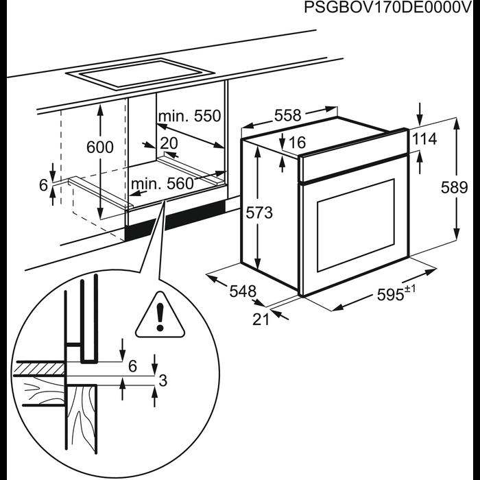 Zanussi - Steam oven - ZOS37972XK