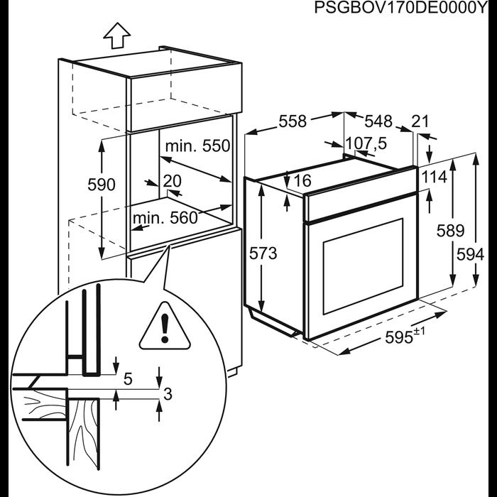 Zanussi - Einbaubacköfen- und herde - ZOP37902XU