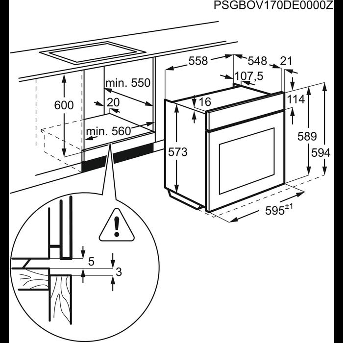 Zanussi - Einbaubacköfen- und herde - ZOB65902XU