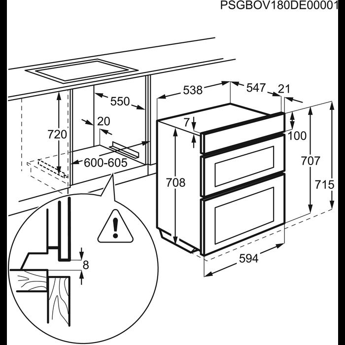 AEG - Electric Oven - DUK431110M