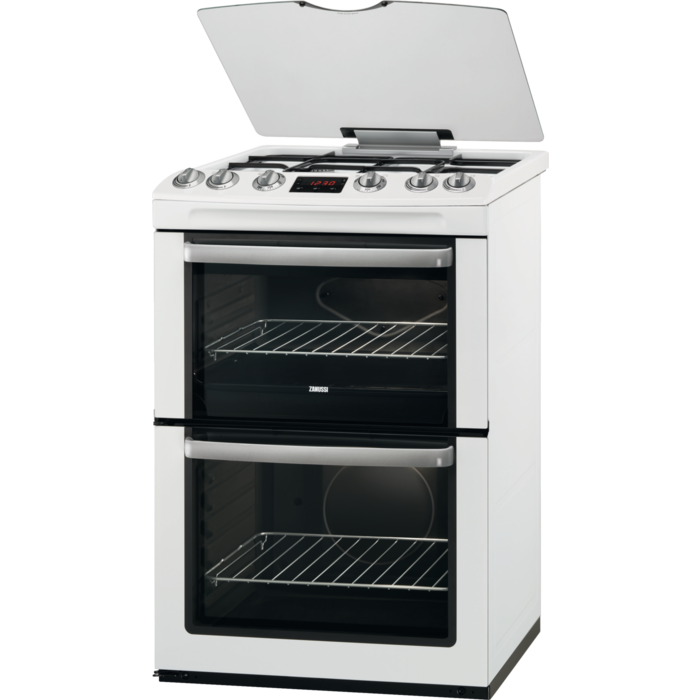 Zanussi - Gas cooker - ZCG664GWC