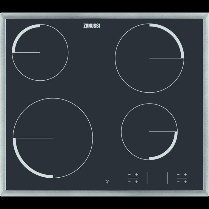 Zanussi - Elektrisk platetopp - ZEV6340XBA