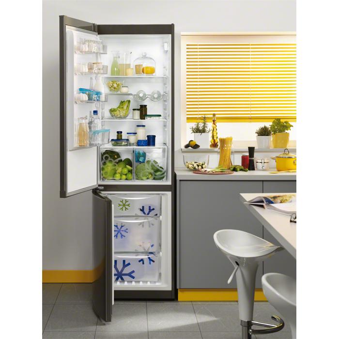 Zanussi - Freestanding fridge freezer - ZRB38212XA