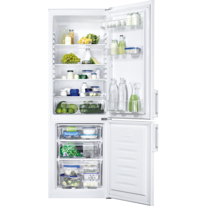 Zanussi - Freestanding fridge freezer - ZRB24100WA