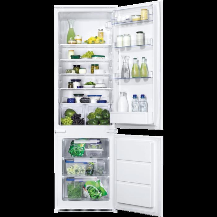 Zanussi - Integrated fridge freezer - ZBB28441SA