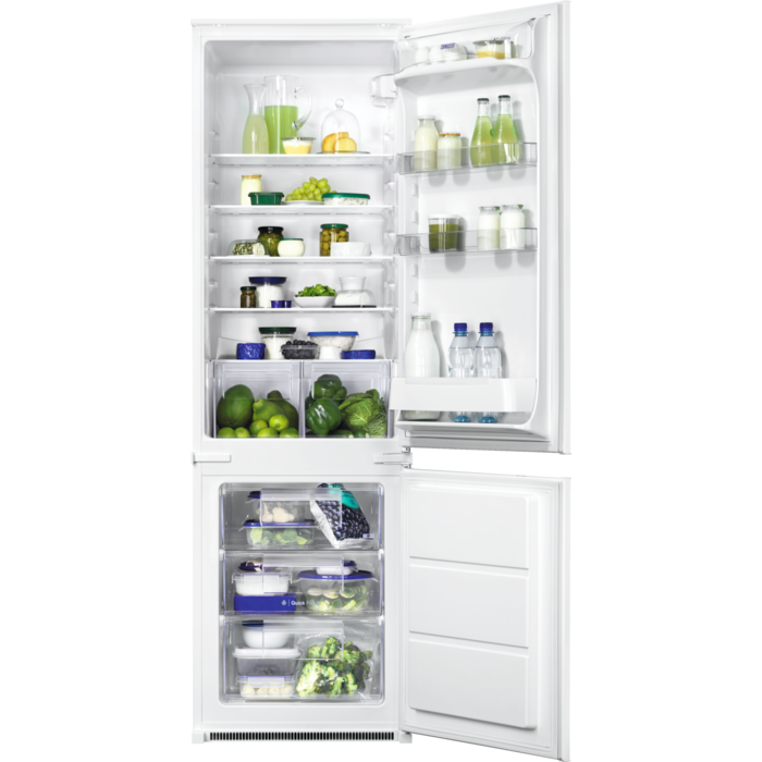 Zanussi - Integrated fridge freezer - ZBB28442SA