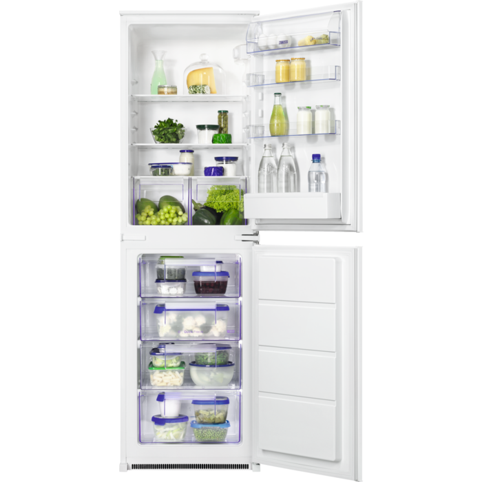 Zanussi - Integrated fridge freezer - ZBB27453SK