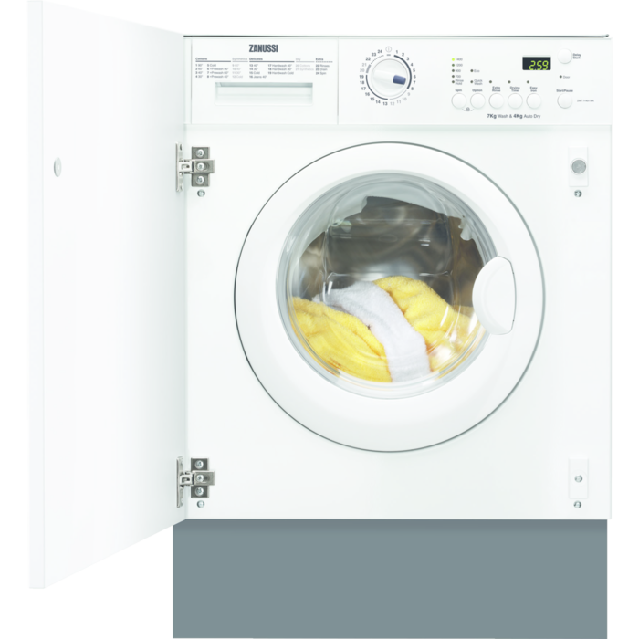 Zanussi - Integrated washer dryer - ZWT71401WA