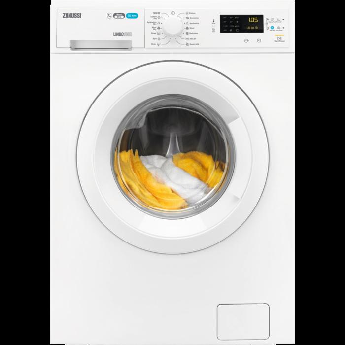 Zanussi - Freestanding washer dryer - ZWD71463NW
