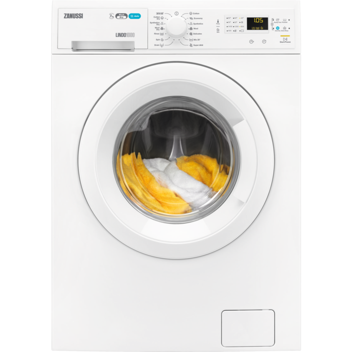 Zanussi - Freestanding washer dryer - ZWD71460NW