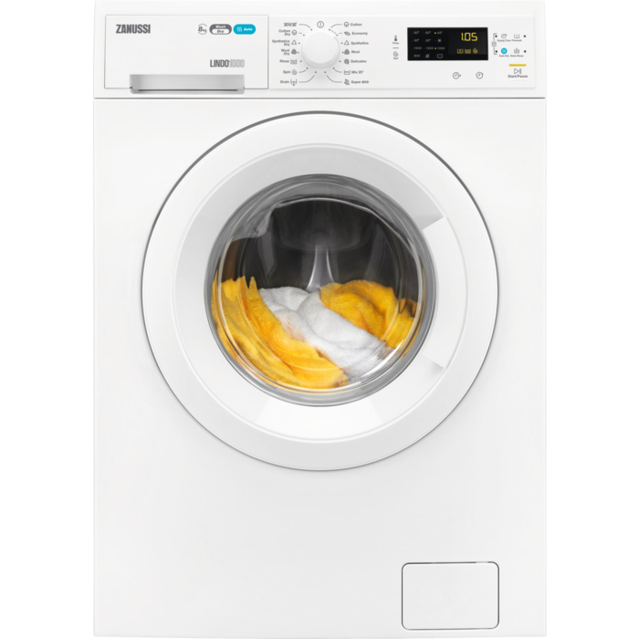 Zanussi - Freestanding washer dryer - ZWD81663NW