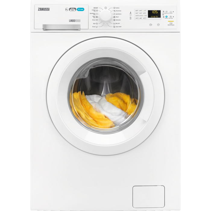 Zanussi - Freestanding washer dryer - ZWD81660NW